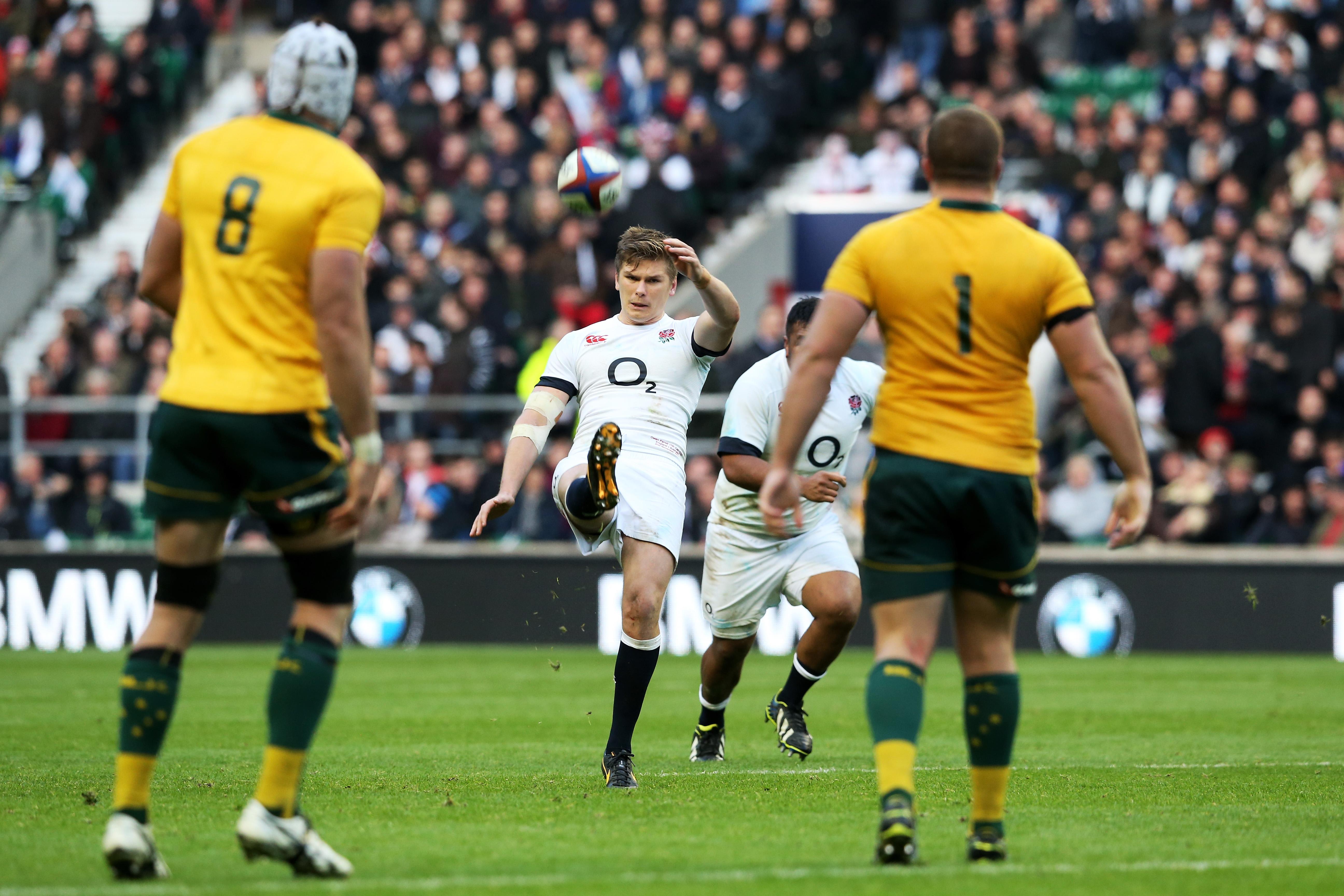 England V Australia Qbe International Rugby World