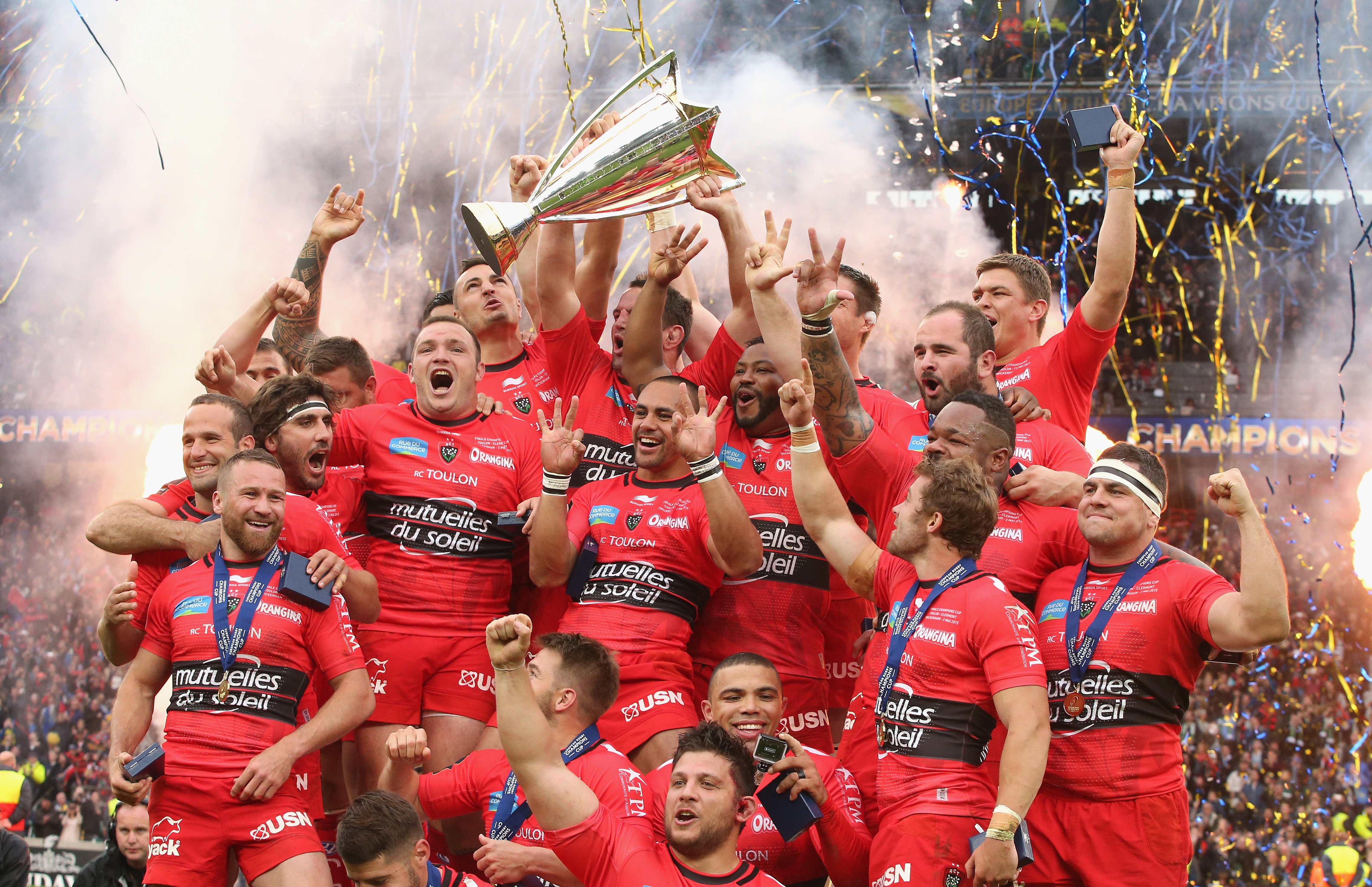 The opening match of the inaugural guinness inter national champions - Shared Rights Toulon Won The Inaugural Champions Cup In A Game Shown By Bt Sport And Sky Sports