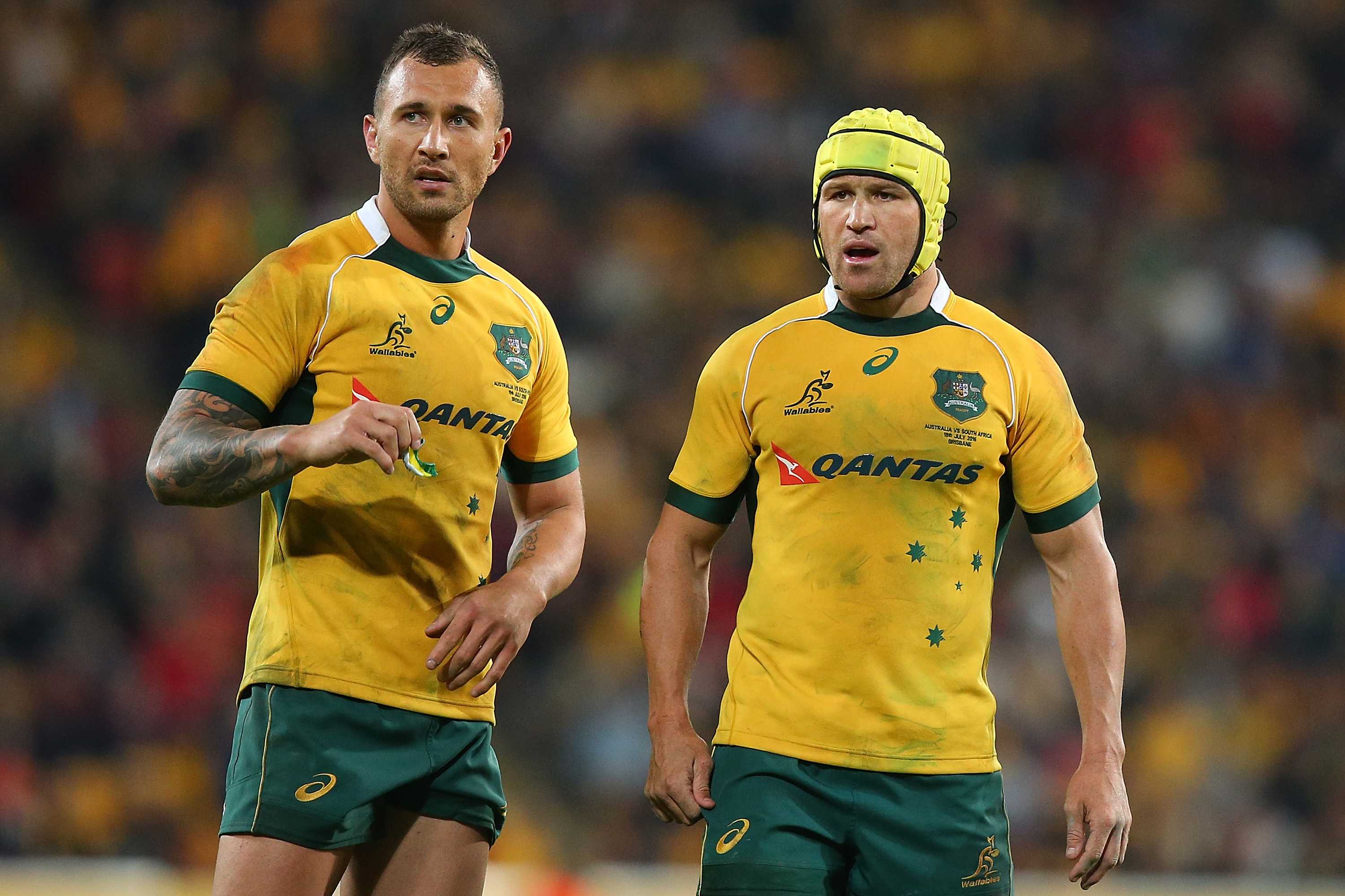 Poll Who is Australias best midfield playmaker RugbyQuade Cooper Haircut