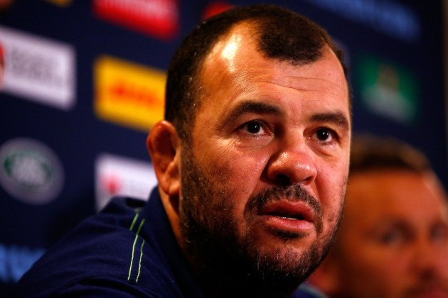 Express yourself: Michael Cheika praises his team's character and rich diversity. Photo: Getty images