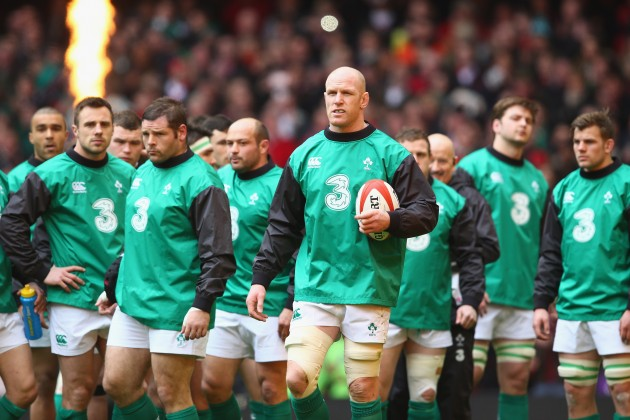 Paul O'Connell will Captain Ireland