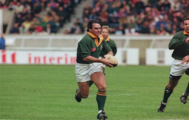 South Africa's Danie Gerber