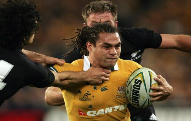 George Smith grapples with New Zealand
