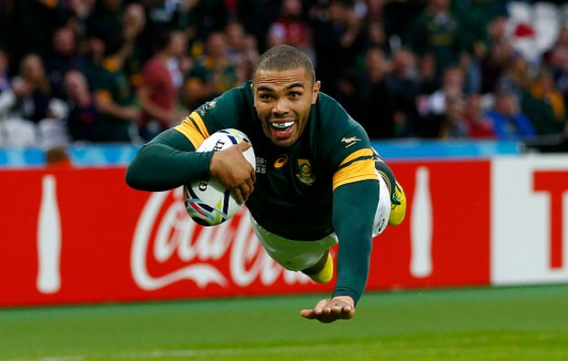 Bryan Habana crosses the whitewash