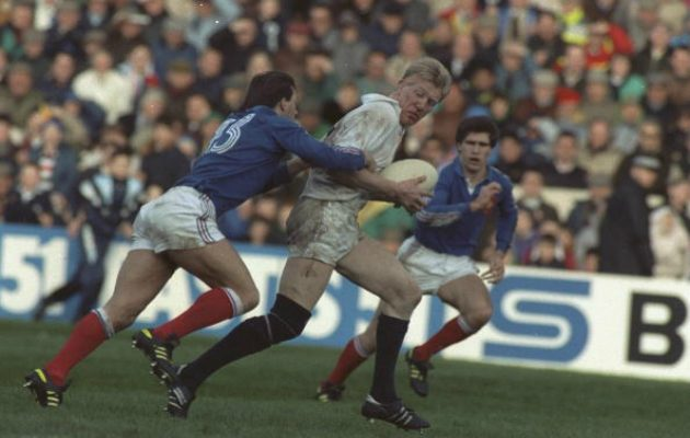 John Jeffrey on the attack against France