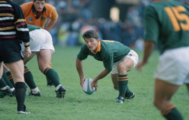 Joost van der Westhuizen of South Africa