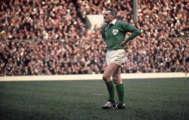 Tom Kiernan of Ireland