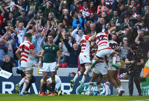 Against the odds: Japan's famous victory over South Africa in 2015