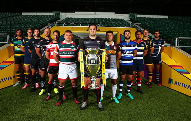 Aviva Premiership launch