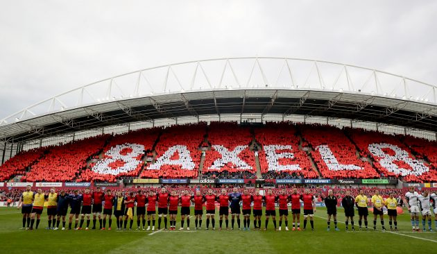 Outstanding tribute: Munster did Anthony Foley proud.