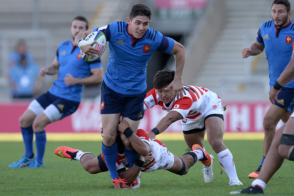 Rising star: Anthony Belleau on the ball for France at the 2016 World Rugby U20 Championship.