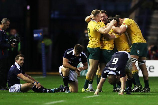 Scotland v Australia