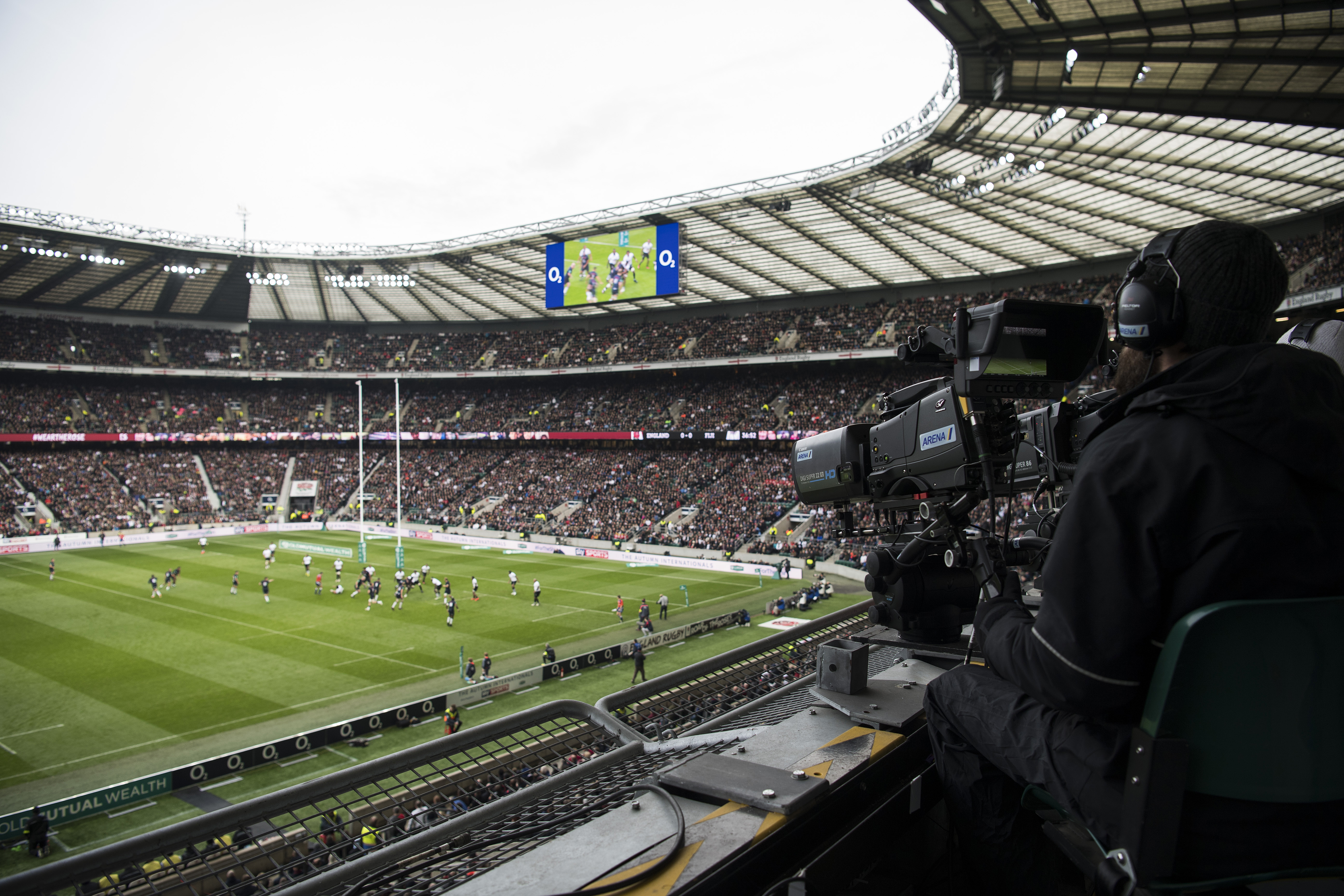 Sky's the limit: Behind the scenes with Sky Sports on an England Rugby match day