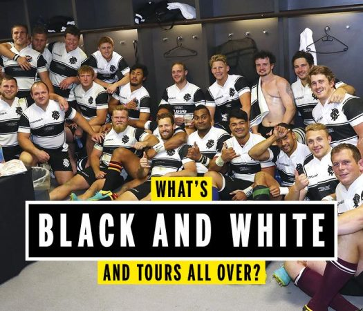 Rugby World tours with the Barbarians