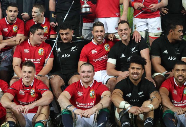All Blacks and Lions
