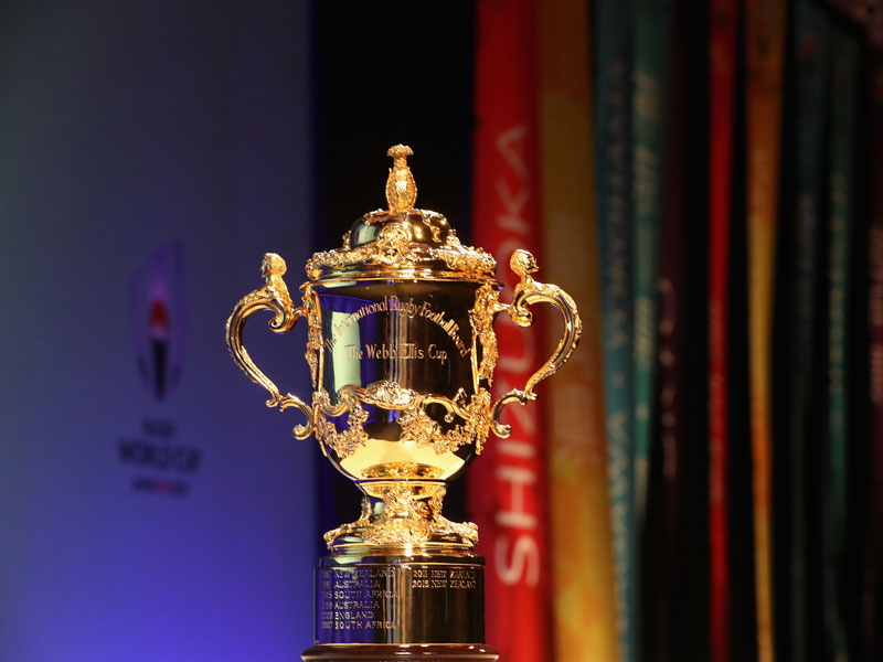 History Of The Rugby World Cup Trophy Rugby World