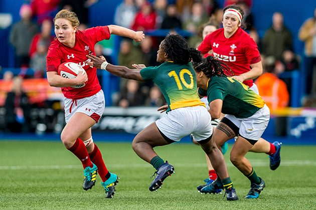 Hotshot: Wales Women and Cardiff Blues back-row Manon Johnes