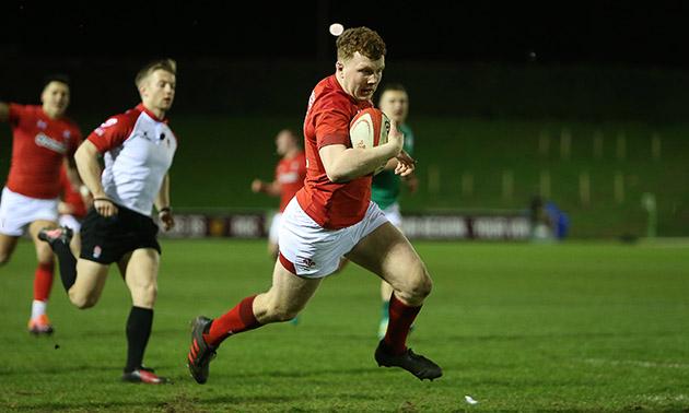 Hotshot: Dragons and Wales U20 centre Aneurin Owen
