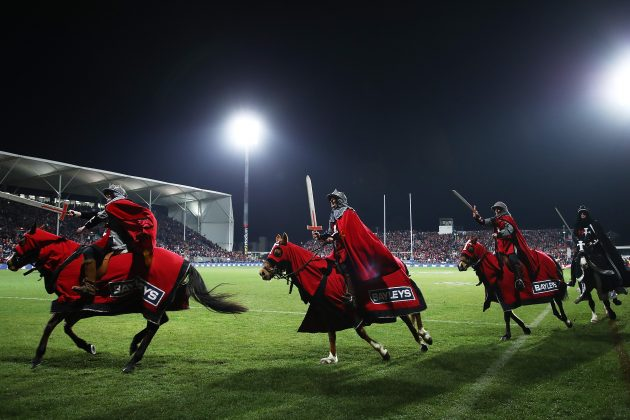 Super Rugby's Crusaders considering name-change
