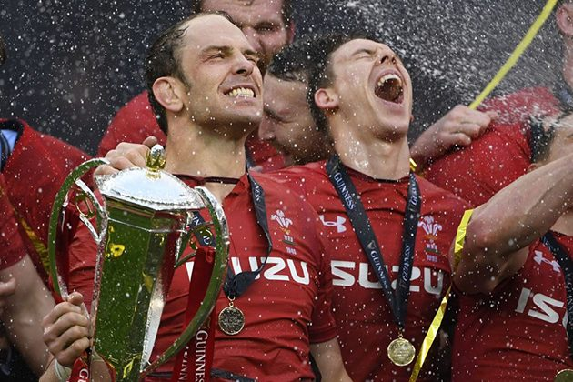 The two men at the heart of Wales' Grand Slam win