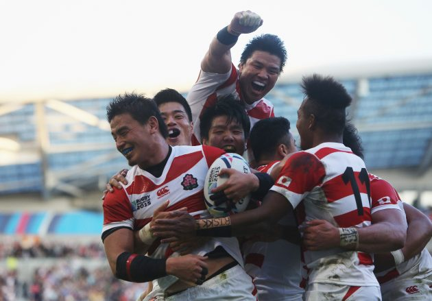 There is a Japanese anime series about rugby