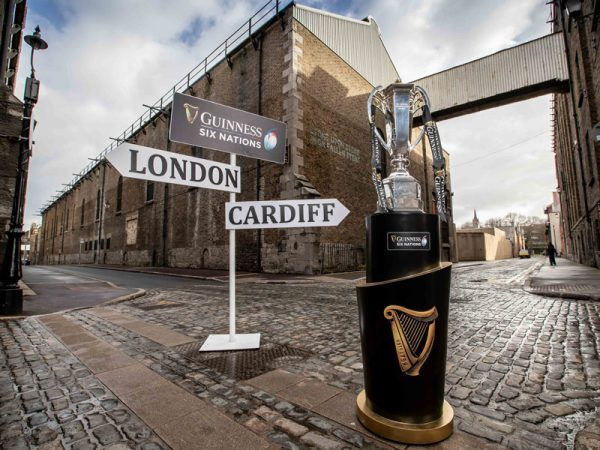 Where Will The Six Nations Trophy Be This Weekend?
