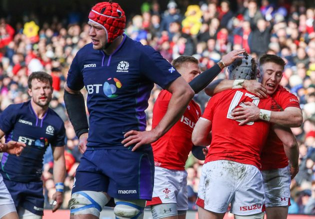 Watch the tries as Wales beat Scotland at Murrayfield