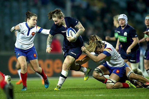 Scotland No 8 Jade Konkel's rugby journey