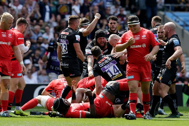 WATCH: Exeter score fastest try in Premiership final history