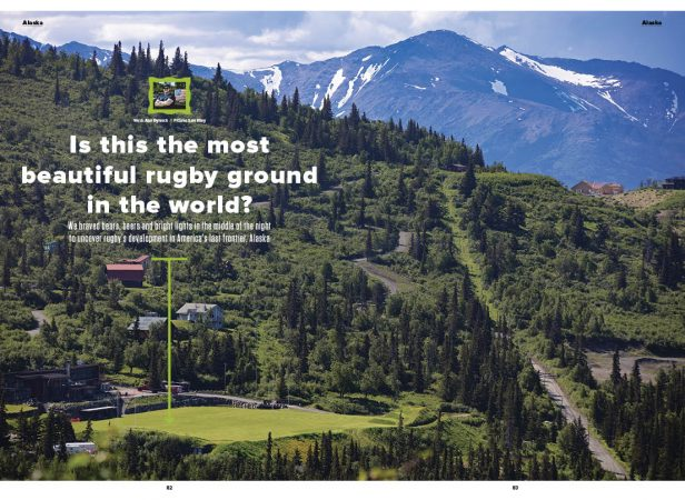 Is this the most beautiful rugby ground in the world?