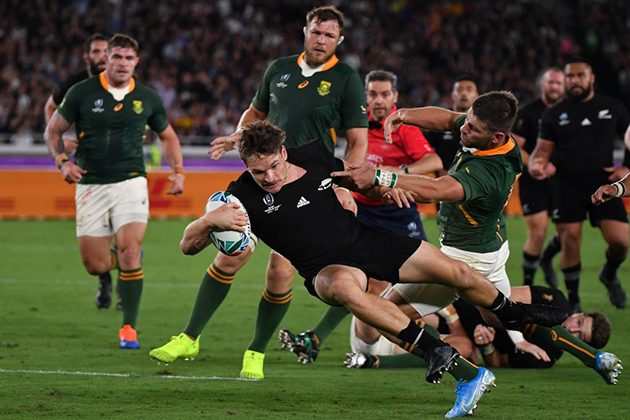 2019 Rugby World Cup: New Zealand 23-13 South Africa
