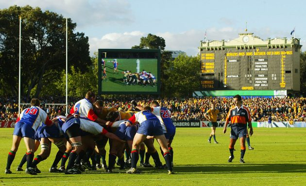 The day Namibia suffer a record defeat in the Rugby World Cup