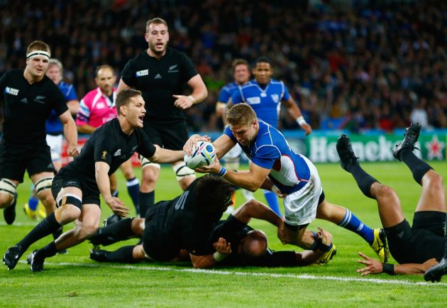 Have Namibia played in the Rugby World Cup before?