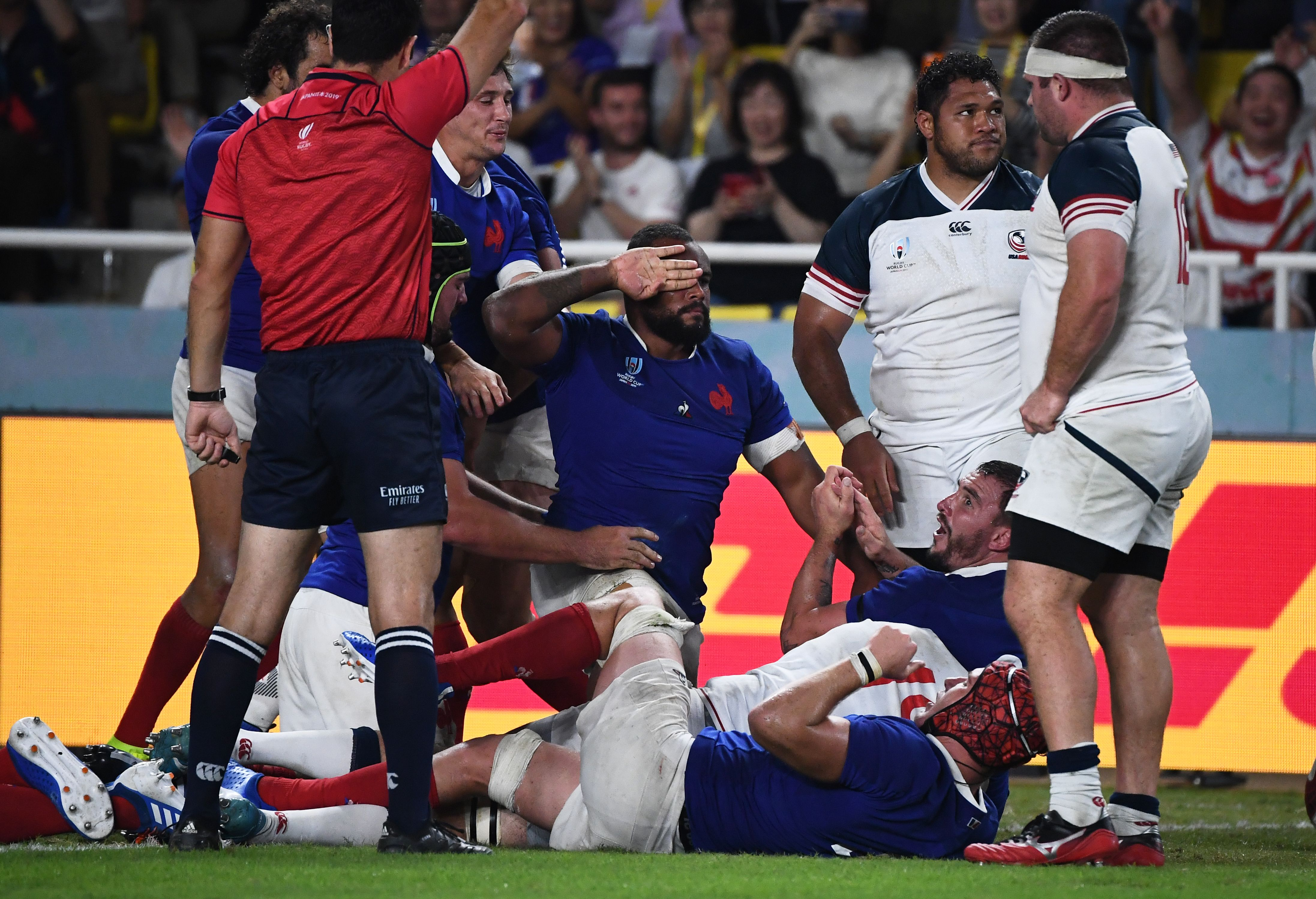 Celebration At Rugby World Cup
