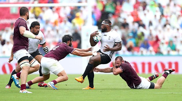 2019 Rugby World Cup: Georgia v Fiji
