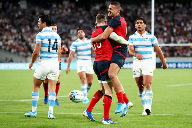 2019 Rugby World Cup: England v Argentina