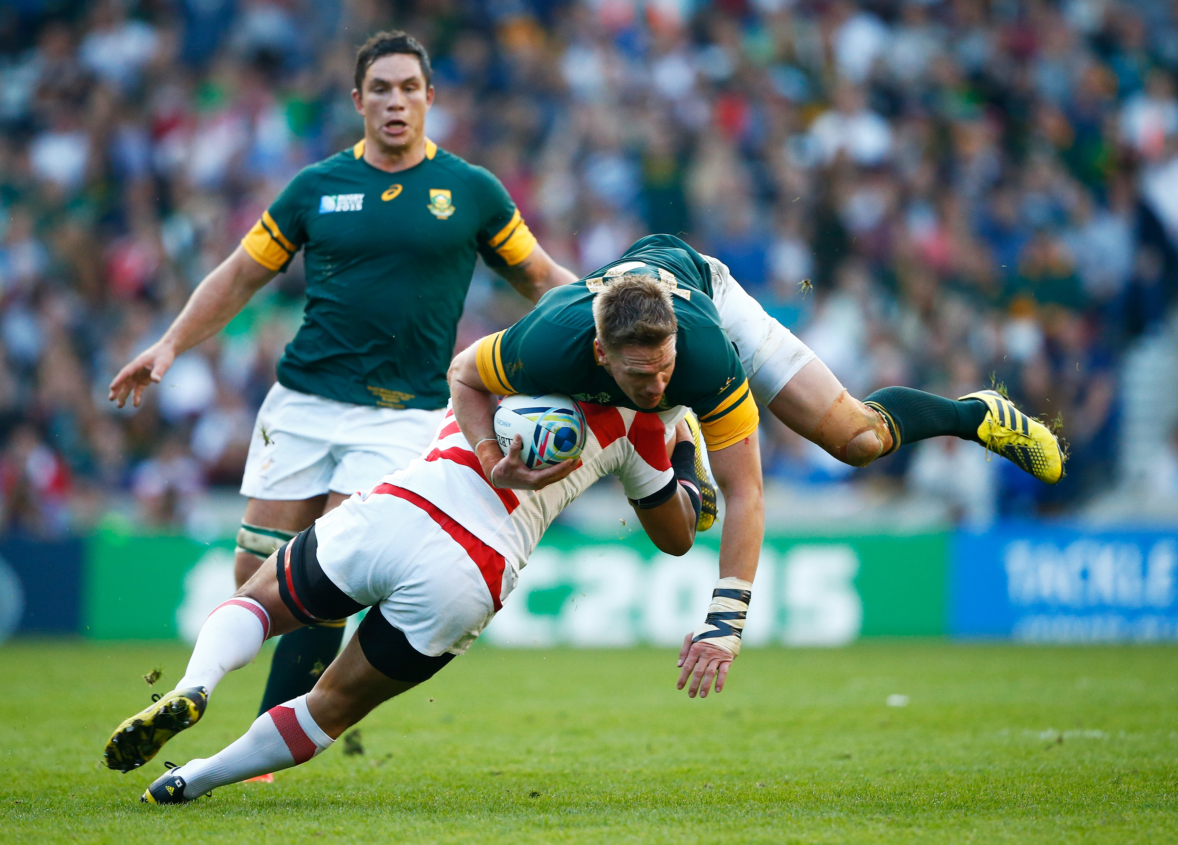 2019 Rugby World Cup Quarter-final: Japan v South Africa - Rugby World
