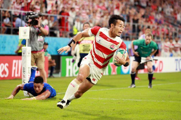 Kenki Fukuoka scores for Japan