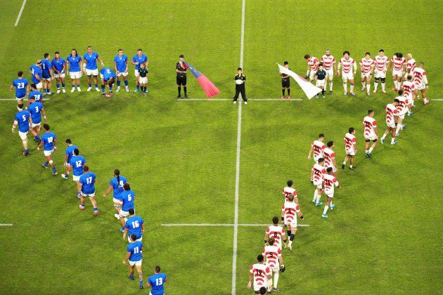 Japan and Samoa walk out