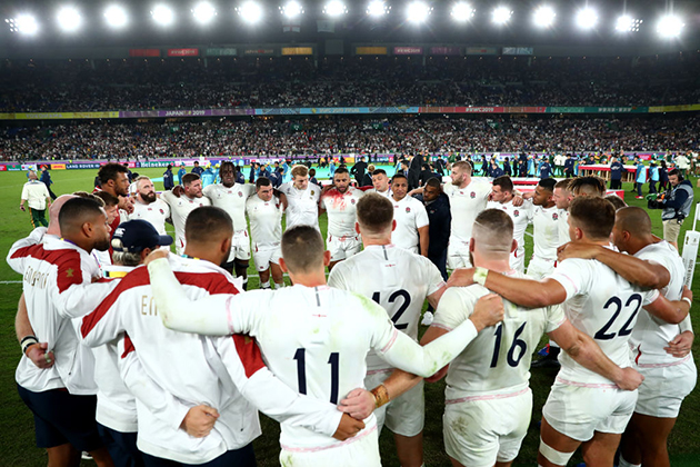 England XV for the 2023 Rugby World Cup in France