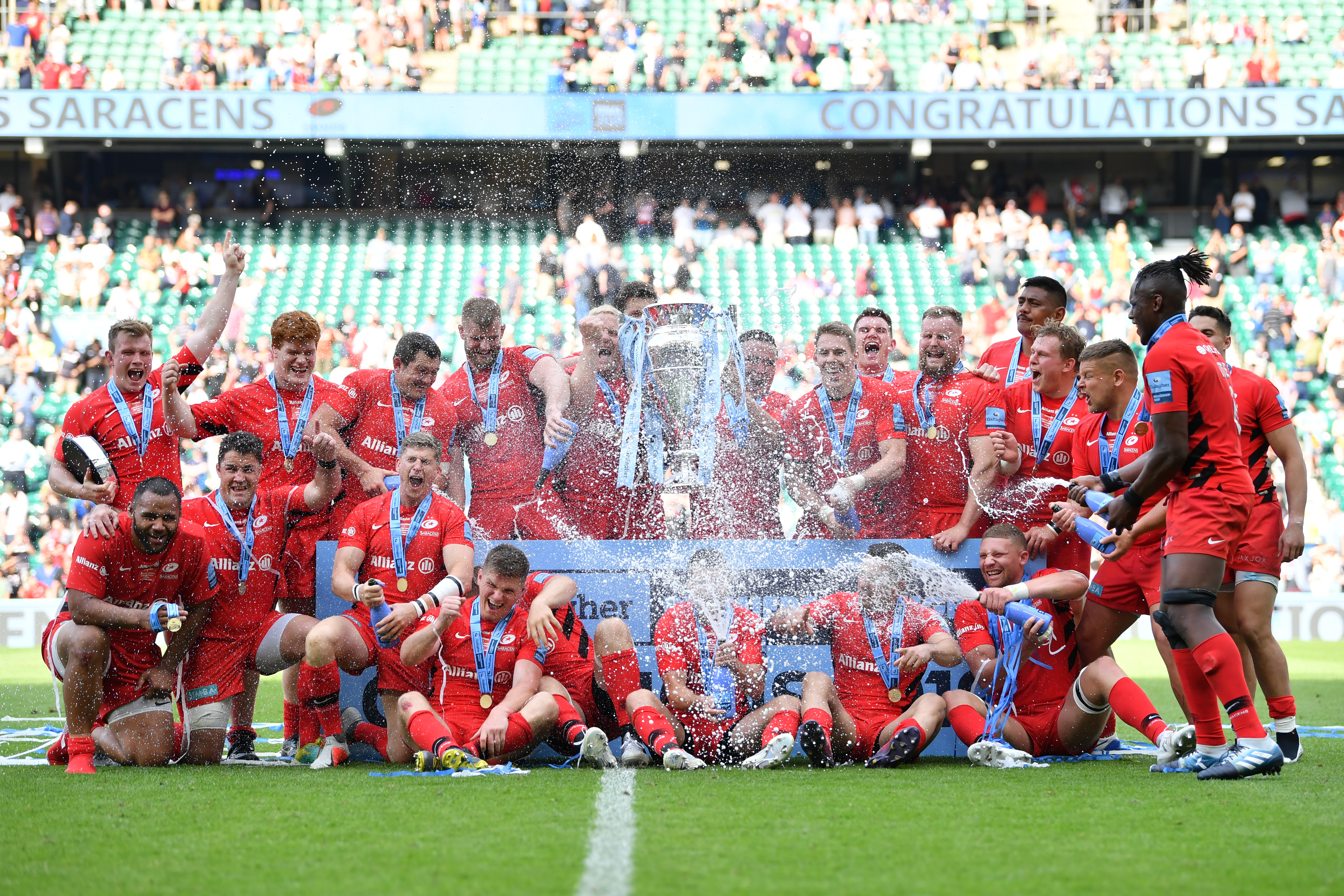 Saracens Docked 35 Points And Fined 5 3m For Breaching Salary Cap Rules