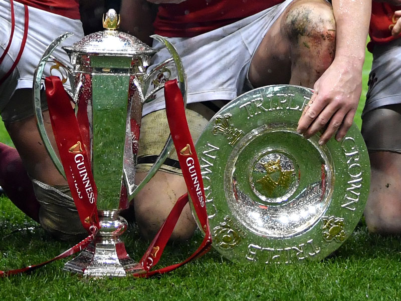 Six Nations Trophies - Cups played for during the tournament