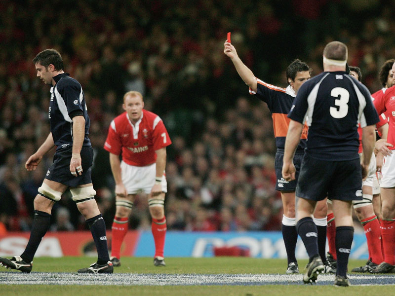 What Happens If A Player Is Sent Off In The Six Nations? - Rugby World