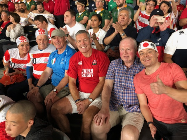 Gavin Hastings on a journey to remember in Japan
