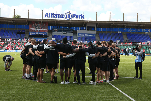 Saracens relegated from Premiership at end of 2019-20 season