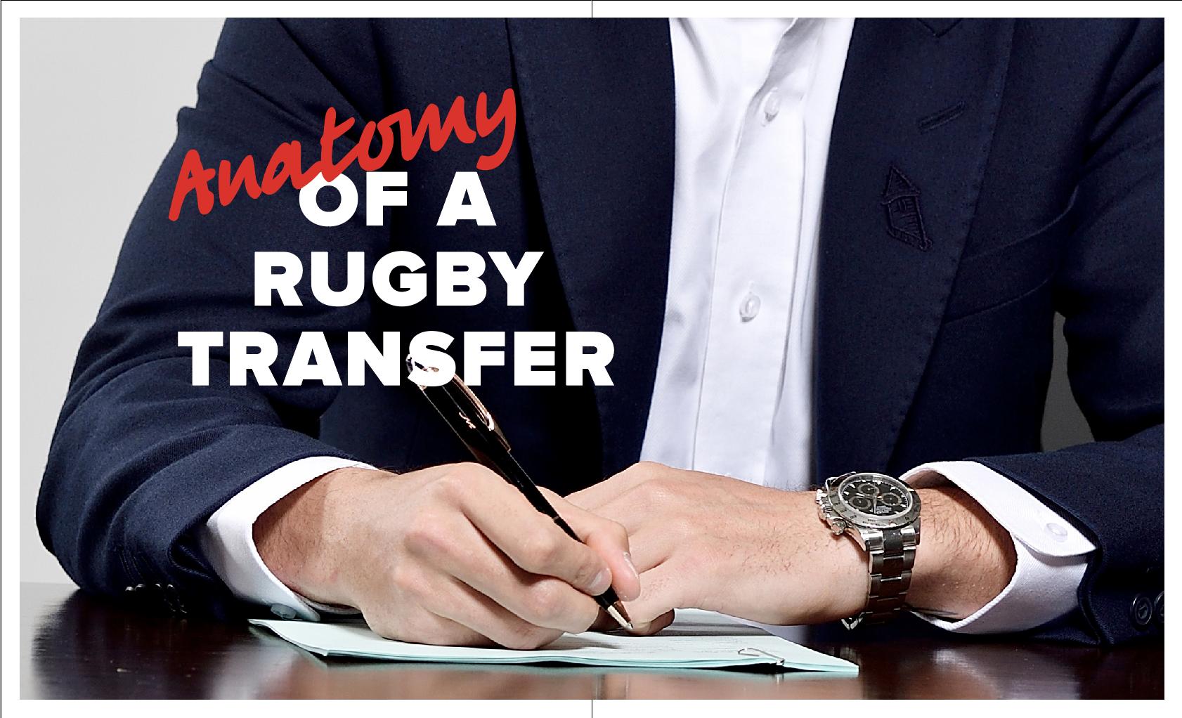 Anatomie d'un transfert de rugby pendant la crise Covid-19