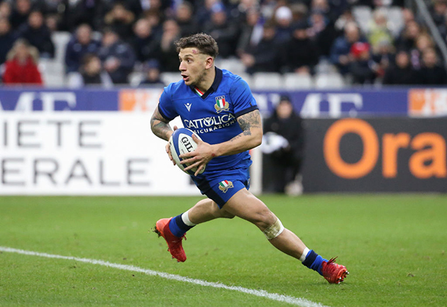Matteo Minozzi: How to attack from full-back - Rugby World