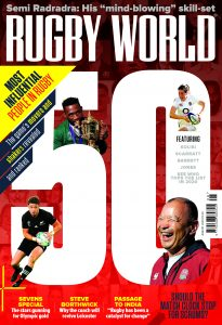Rugby World's August 2020 edition