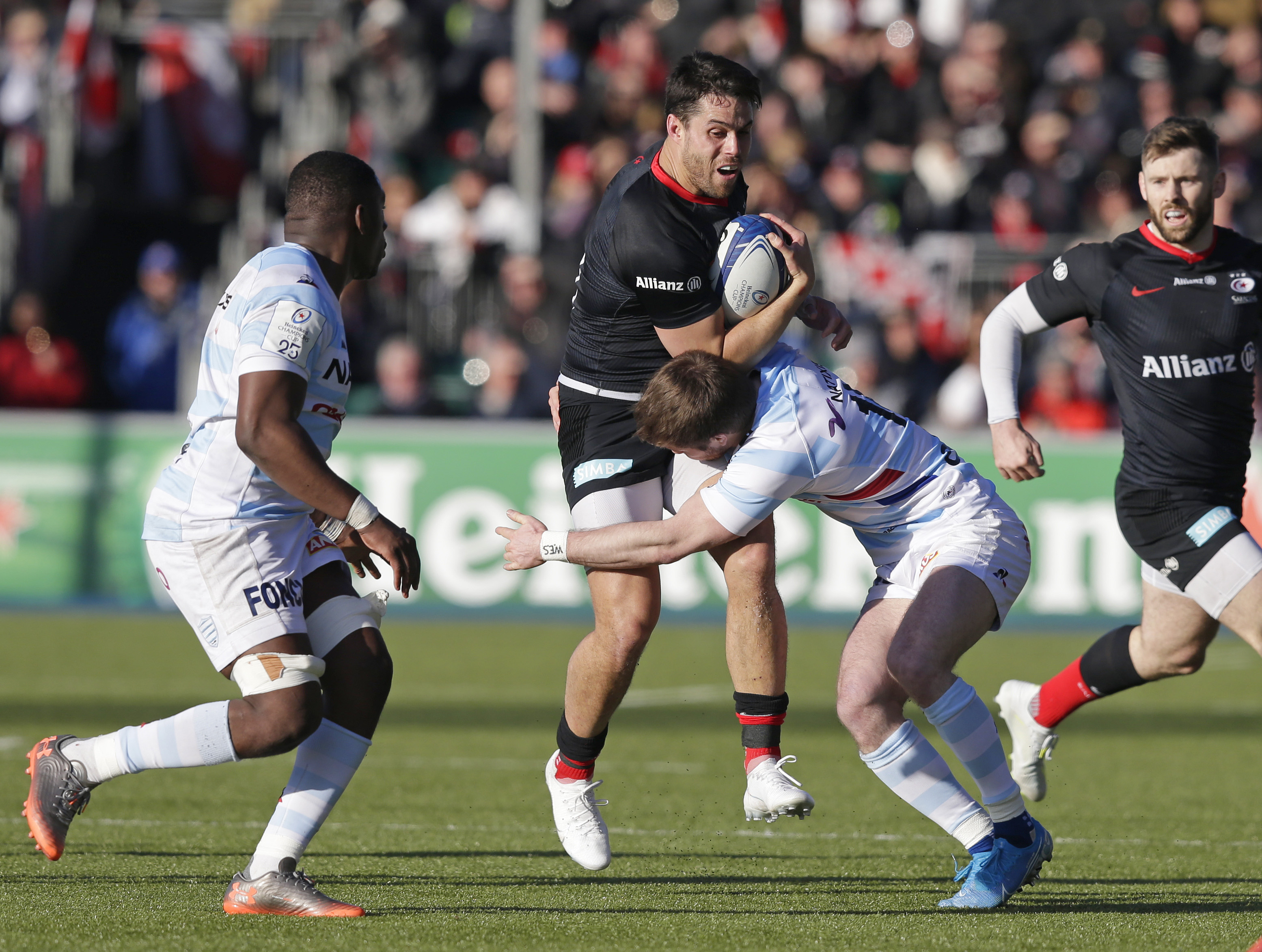 Racing v Saracens live stream – a Champions Cup semi-final preview