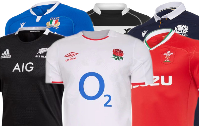 The Best Rugby Shirts 2020 - Rugby World magazine